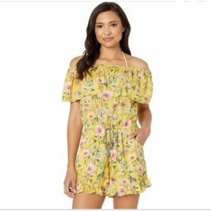 🆕️ LUCKY BRAND Off the Shoulder Romper